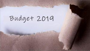 Budget 2019 Update
